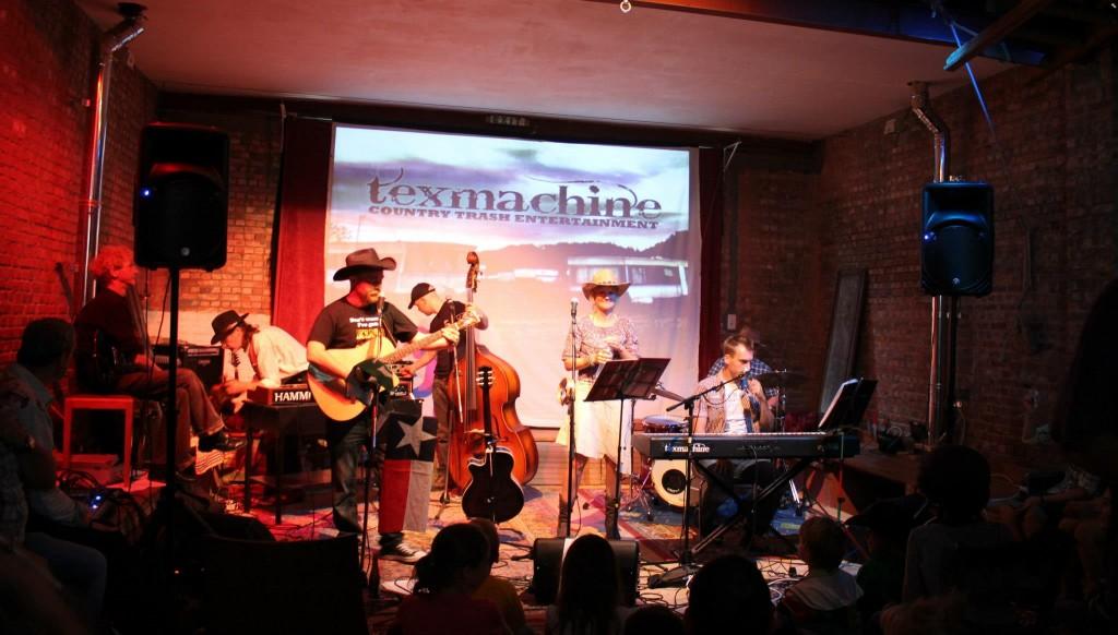 Concert Texmachine chez Ploef
