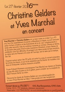 Flyer light yves marchal et christine 2015